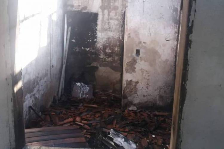 Incêndio foi registrado em Itapebussu