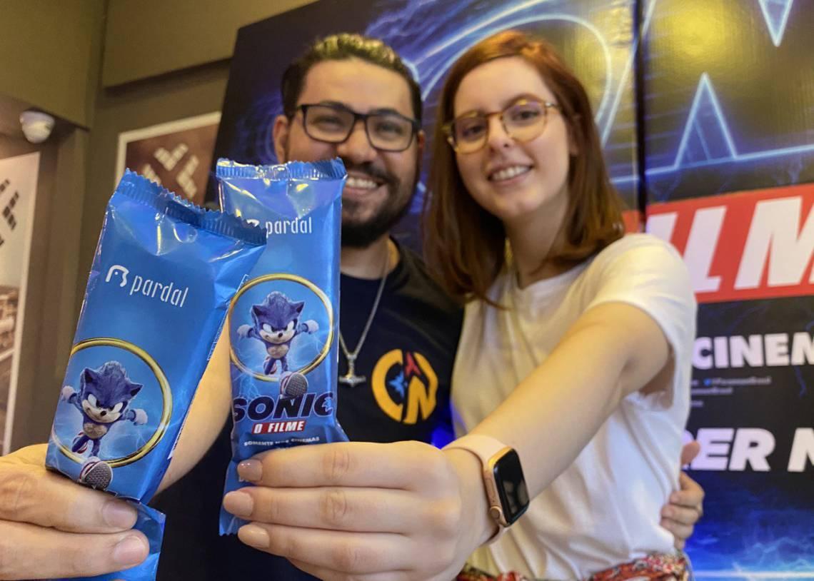Evento de lançamento da embalagem promocional de picolé da Pardal trouxe influenciadores locais para o shopping Iguatemi
