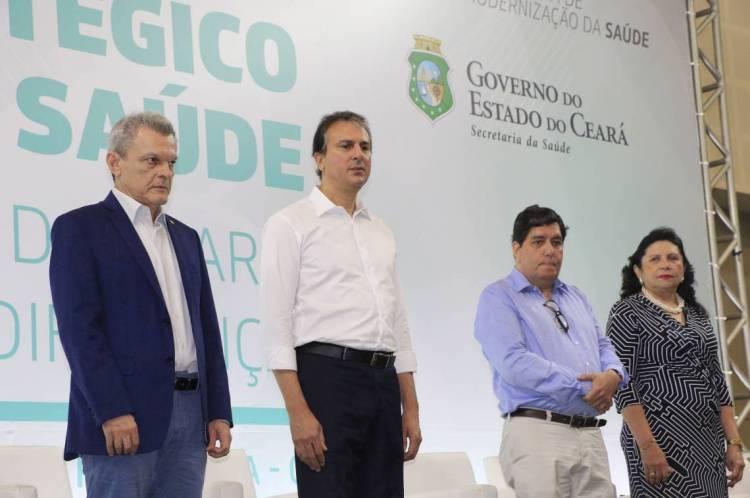 Fórum Estratégico da Saude, no Centro de Eventos, no bairro Edson Queiroz.