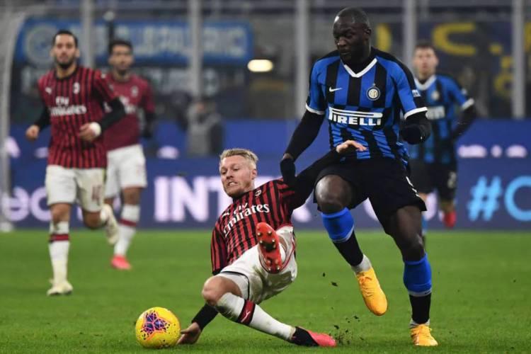 Inter de Milão venceu o Milan por 4 a 2 (Foto: AFP)