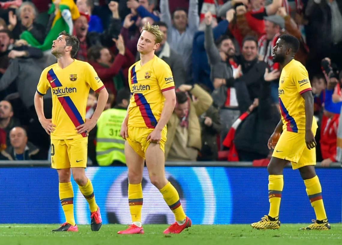 Barcelona não tem conseguido ter solidez defensiva