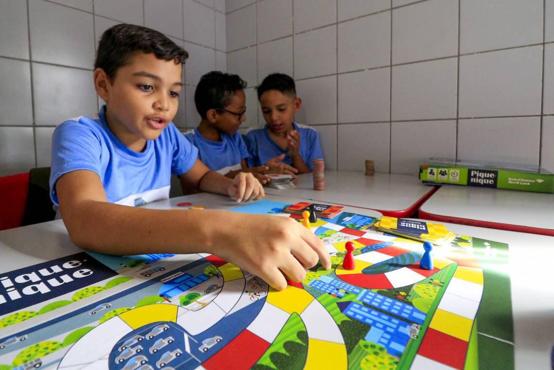 FORTALEZA, CE, Brasil. 10.02.2020: Reportagem sobre educação financeira nas escolas. (Foto: Deísa Garcêz / Especial para O Povo)