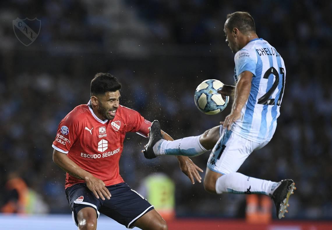 Racing venceu o Independiente por 1 a 0