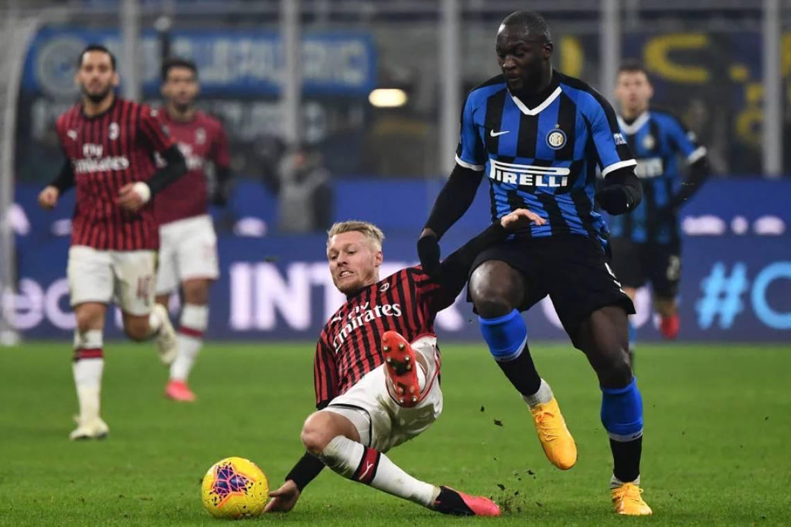 Inter de Milão venceu o Milan por 4 a 2