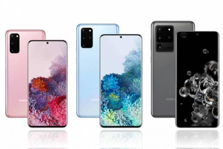 Todos os modelos da linha S20 possuem conectividade 5G; tecnologia ainda não foi lançada no Brasil (Foto: Reprodução/Samsung)