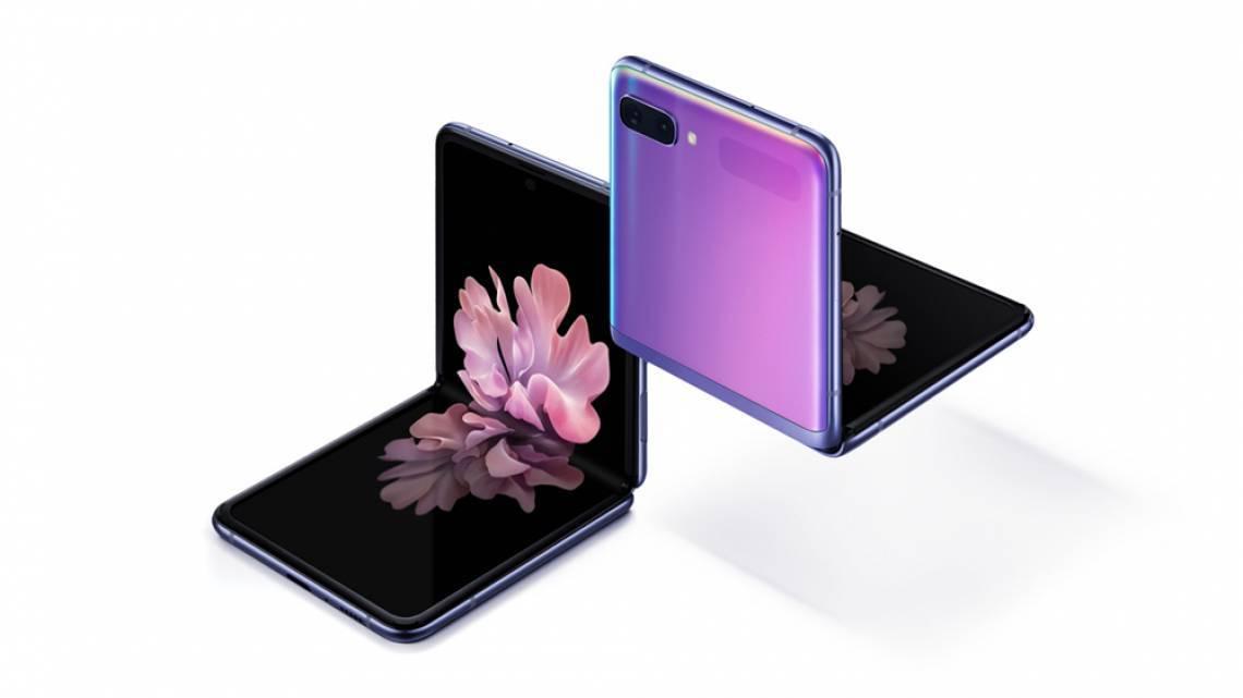 Galaxy Z Flip tem tela dobrável e deve chegar ao País custando R$ 8.999