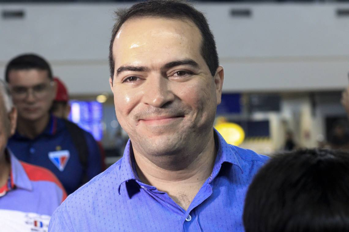 Presidente Marcelo Paz foi entrevistado no FutCast