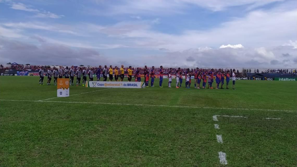 Palco do jogo é o estádio Diogão, em Bragança-PA.