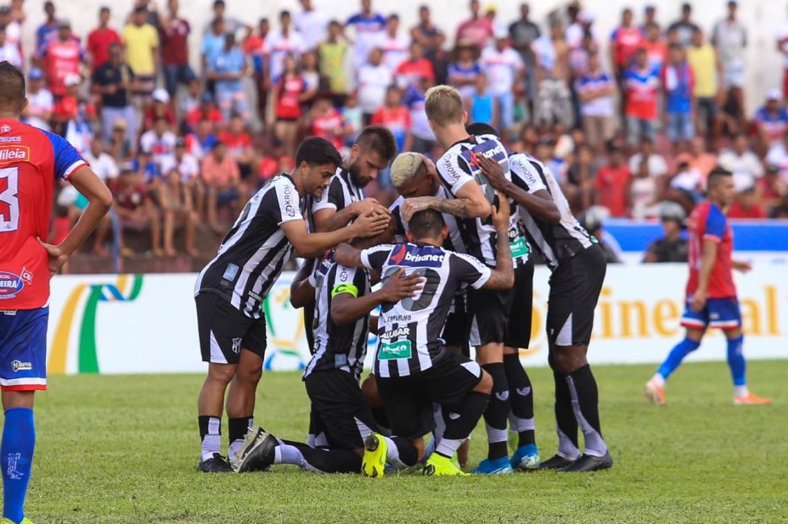 Ceará venceu o Bragantino-PA fora de casa em partida válida pela Copa do Brasil