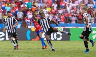 Ceará se classificou para a segunda fase após eliminar o Bragantino-PA.