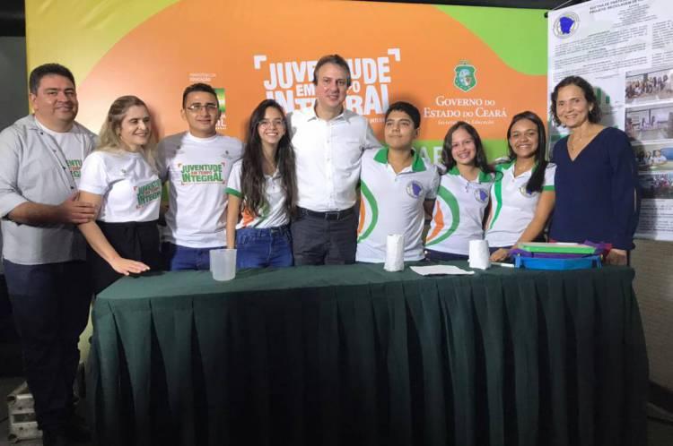 Camilo Santana em lançamento de novas unidades de ensino médio em tempo integral