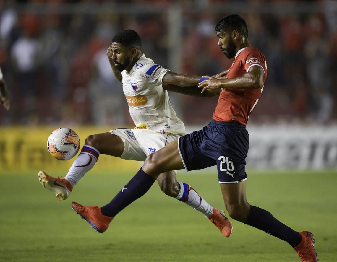 Romarinho desperdiçou a melhor chance do Fortaleza na partida.