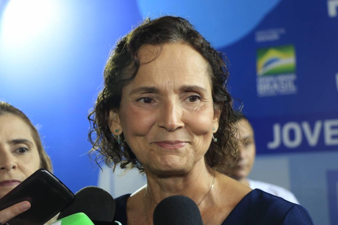 Izolda Cela, vice-governadora do Ceará (Foto: Mauri Melo/O POVO).