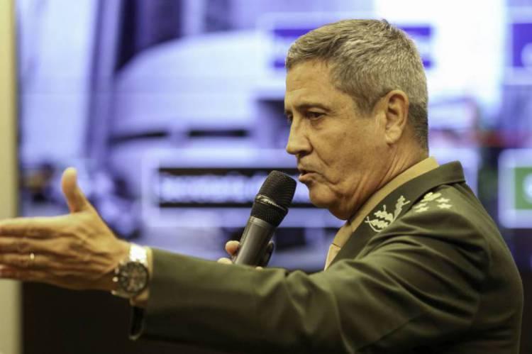 Ministro Braga Netto(Foto: Fabio Rodrigues Pozzebom/Agência Brasil)