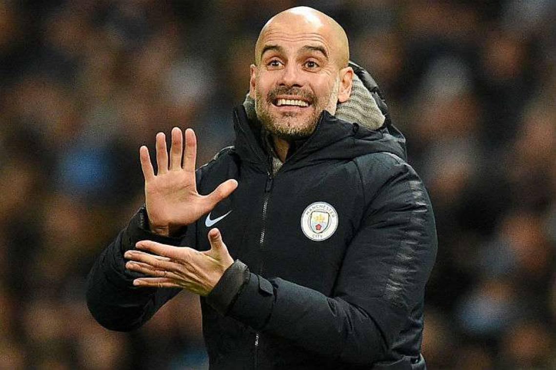 Guardiola admite risco de ser demitido