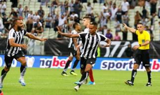 Ceará arrancou empate diante do Bahia em 2 a 2 com gol de Mateus Gonçalves nos minutos finais