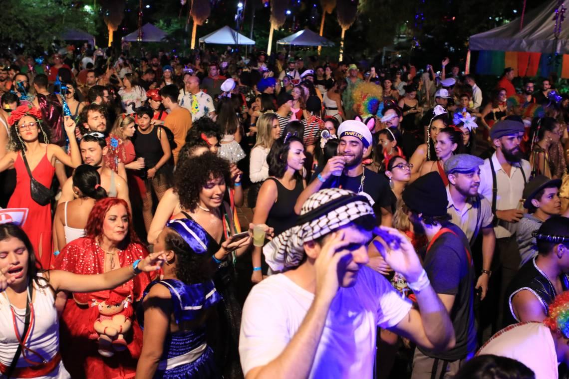 FORTALEZA, CE, BRASIL, 15.02.2020: carnaval a fantasia  TJA.  (Fotos: Fabio Lima/O POVO)