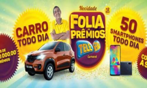 Resultado do terceiro sorteio da Tele Sena de Carnaval 2020 de hoje, domingo, 16 de fevereiro (16/02)