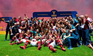 O Flamengo faturou a primeira edição da Supercopa do Brasil