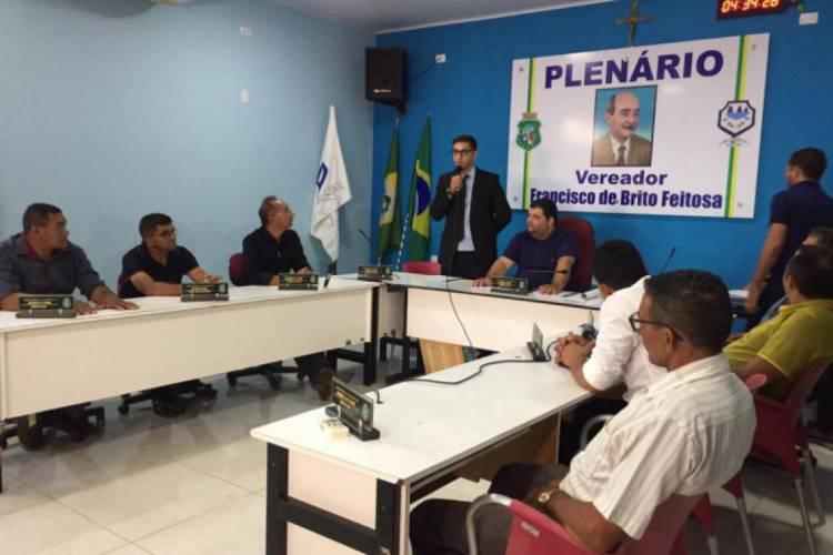 Plenário da Câmara de Granjeiro deve decidir pela cassação de Ticiano Tomé na quarta-feira, 20 (Foto: Divulgação/Câmara Municipal de Granjeiro)