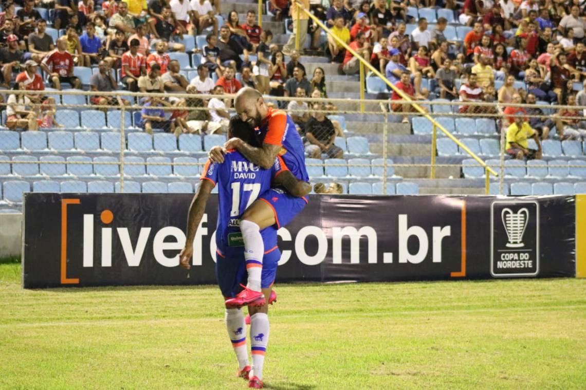 David marcou o segundo gol do Fortaleza sobre o Imperatriz-MA