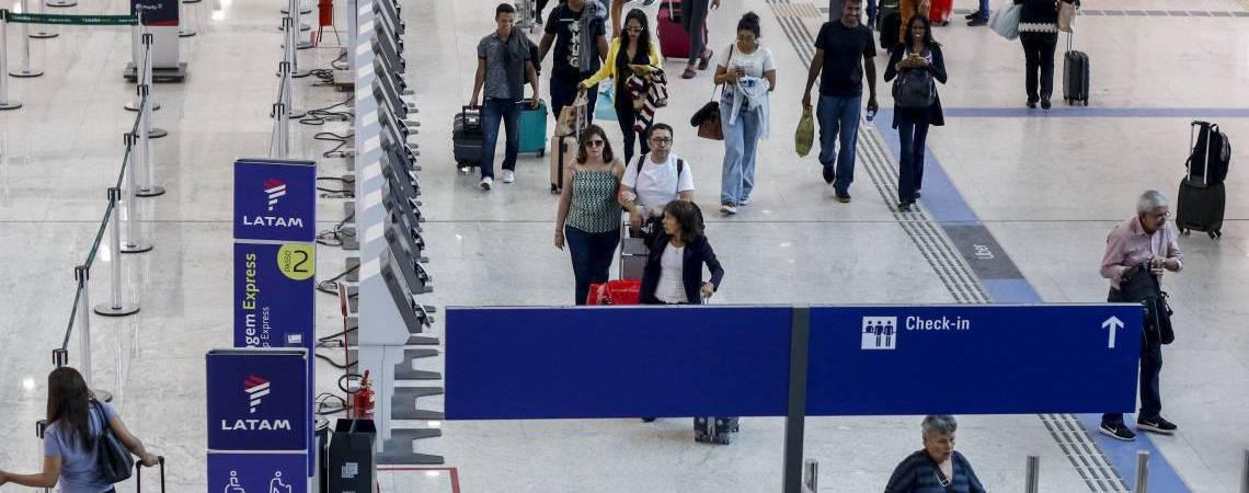 A pesquisa sobre fatores de compra de passagens será realizada até fim de junho no site da Anac (Foto: BÁRBARA MOIRA)
