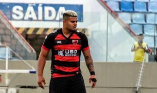 Ex-Ceará, o atacante João Paulo é o artilheiro do Oeste na temporada, com dois gols