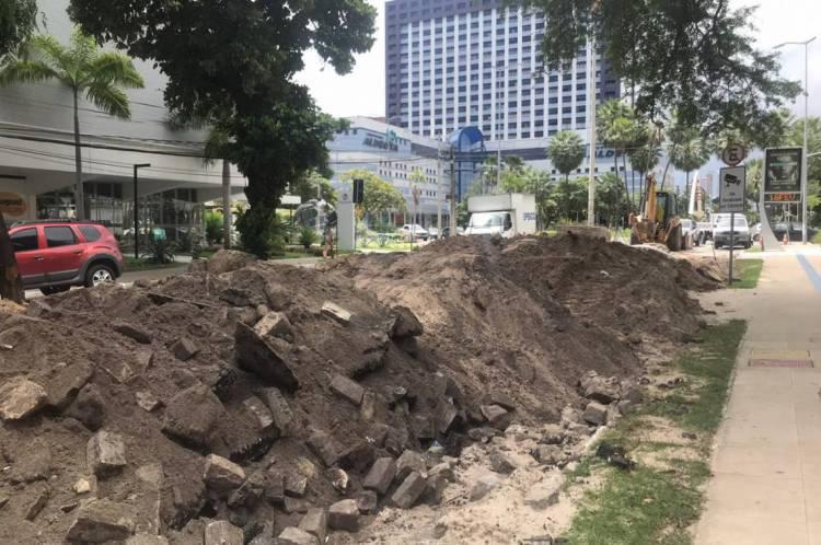 Avenida Desembargador Moreira terá novo trecho bloqueado