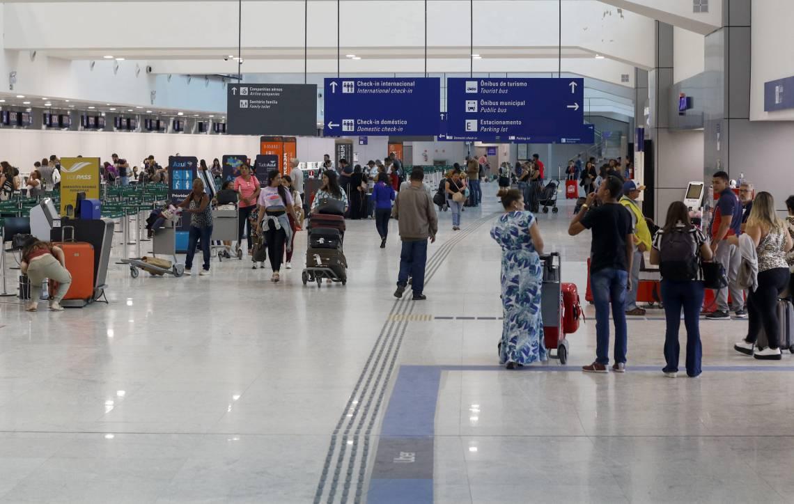 Movimentação do Aeroporto Internacional de Fortaleza