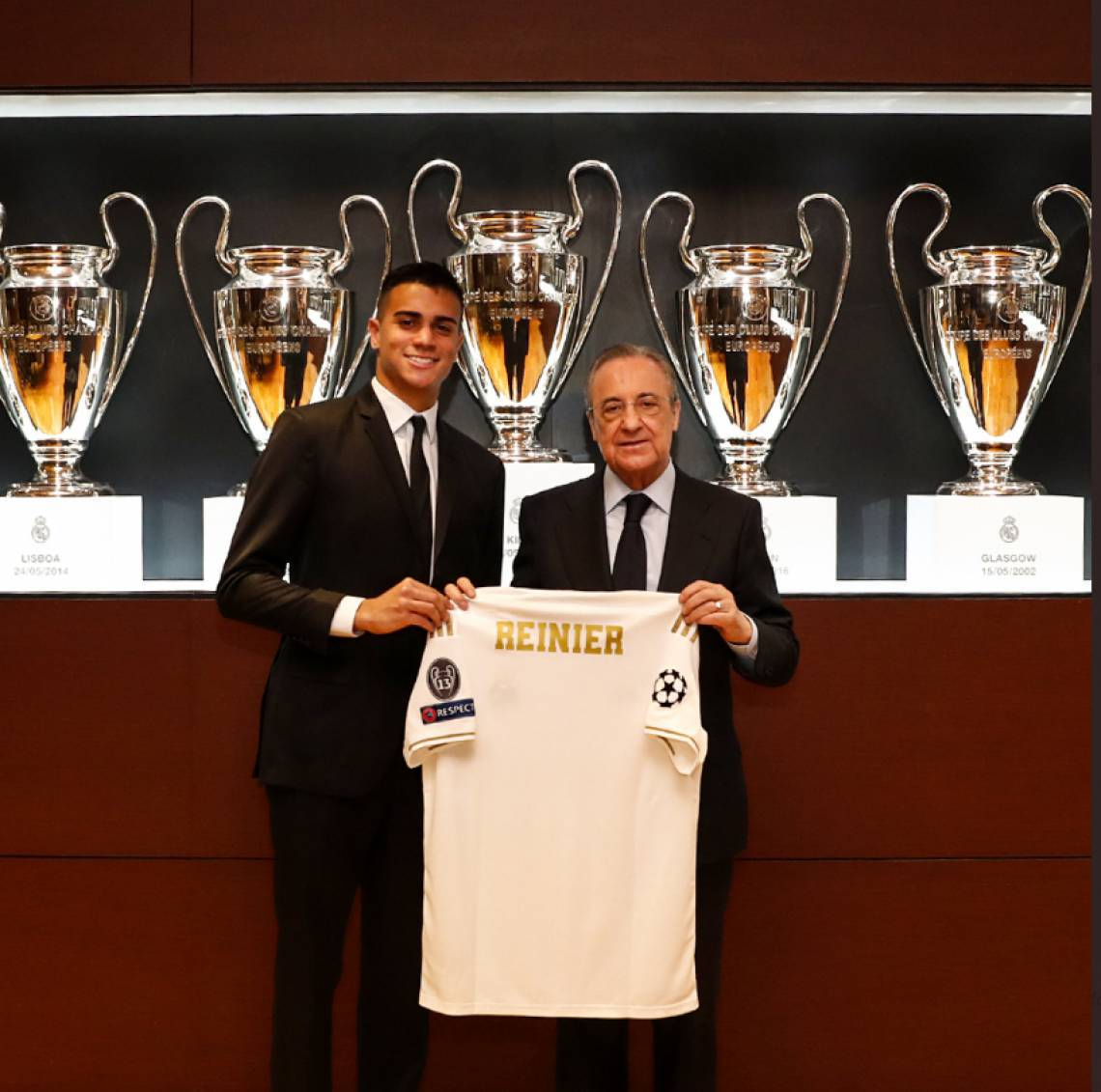 Reinier foi apresentado no Real Madrid