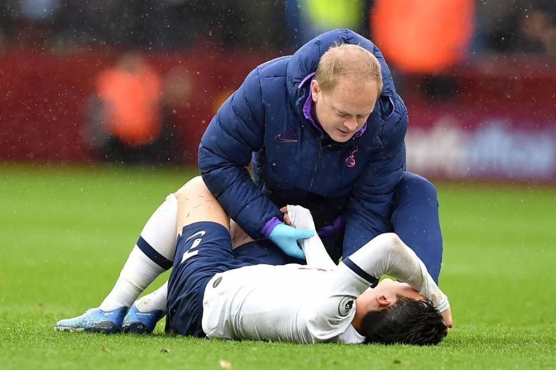 Son desfalca o Tottenham por tempo indeterminado