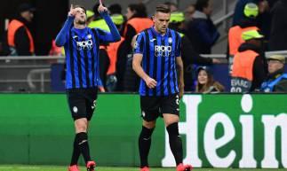 A Atalanta venceu o Valencia por 4 a 1