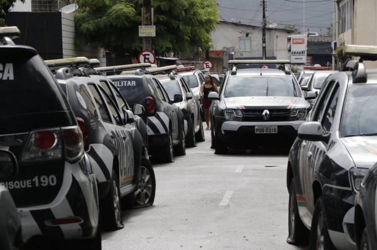 18º Batalhão da PM em Antonio Bezerra. Policiais Militares aderem a paralisação da PMCE