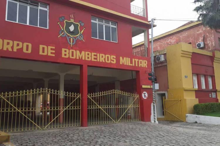 Quartel Central do Corpo de Bombeiros, na Jacarecanga, registra atendimento normal e tranquilo.