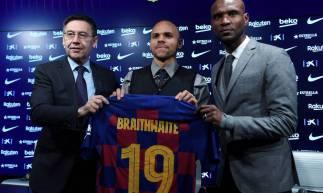 Martin Braithwaite foi confirmado como reforço do Barcelona