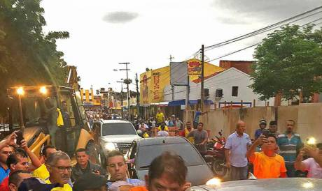 SENADOR Cid Gomes foi baleado em Sobral durante o motim da PM em fevereiro de 2020