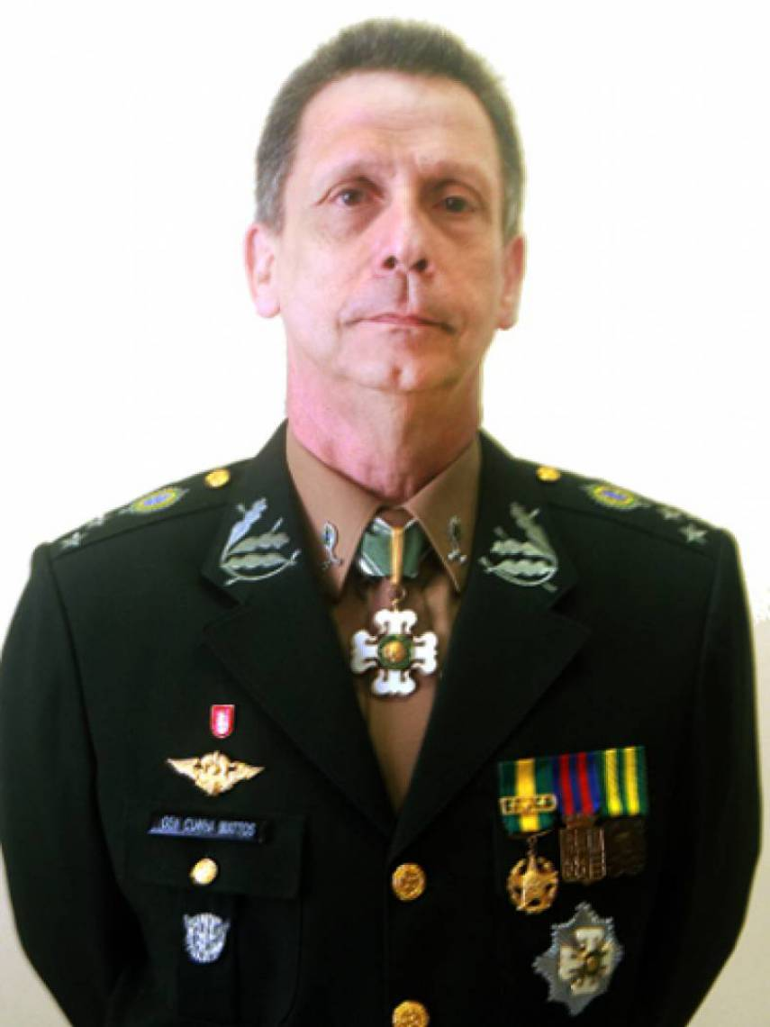 General de divisão Fernando Cunha Mattos, comandante da 10ª Região Militar