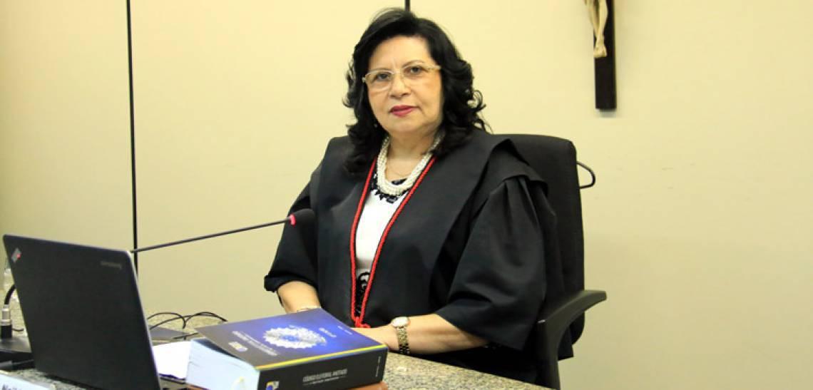 Desembargadora Naílde Pinheiro Nogueira, presidente do TJCE