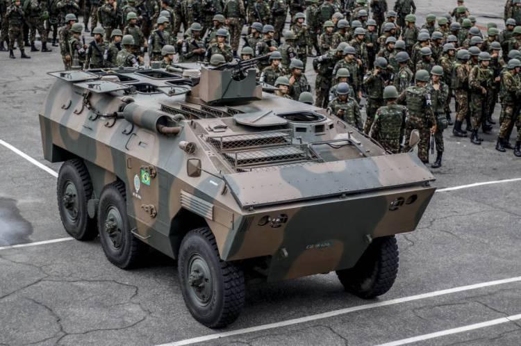Forças Armadas estão atuando no Estado com tropas em veículos e a pé, além de blindados e helicópteros