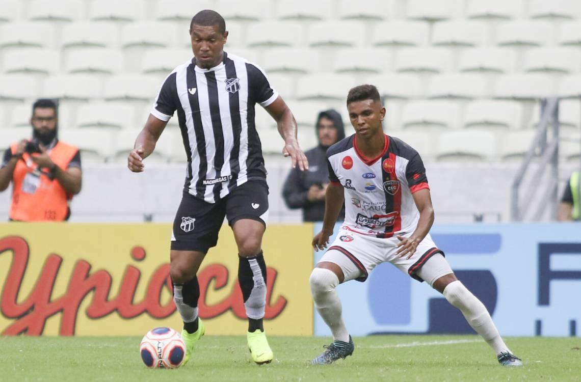 Rodrigão marcou um gol em oito jogos pelo Ceará