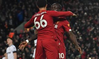 Liverpool derrotou o West Ham por 3 a 2