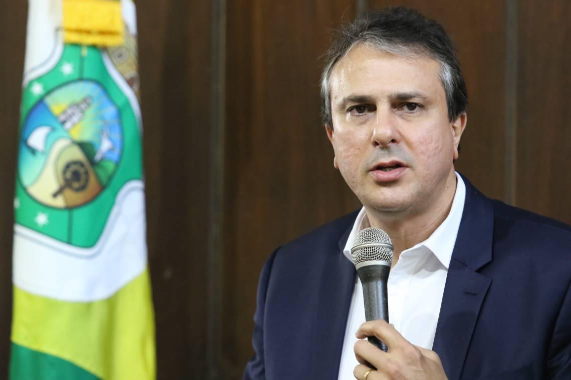 Camilo Santana, governador, no Palacio da Abolição. Visita interministerial à operação de GLO no Ceará. (Fotos: Fabio Lima/O POVO)