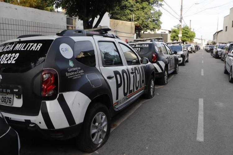 18º Batalhão de Policia, no bairro Antonio Bezerra (Foto: MAURI MELO/O POVO)