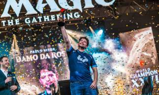 Paulo Vitor Damo Rosa, o PV, conquistou o mundial do Magic World Championship XXVI
