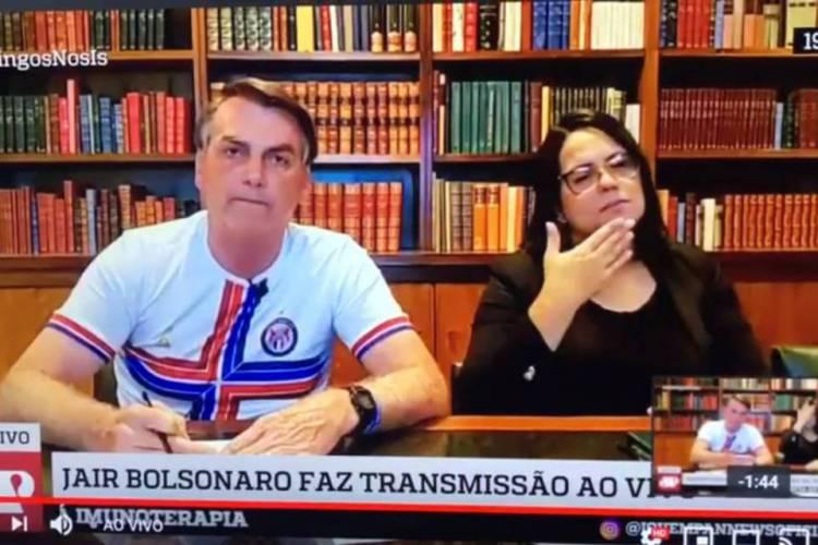 Bolsonaro diz que GLO para o Ceará não é eterna e pede para Camilo negociar com policiais (Foto: Reprodução)