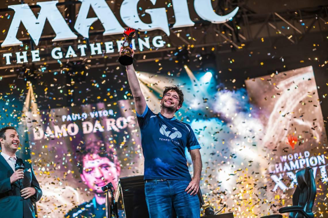 Paulo Vitor Damo Rosa, o PV, conquistou o mundial do Magic World Championship XXVI