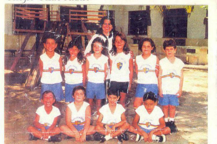 Camila Lima estudou durante nove anos no Colégio Santo Inácio