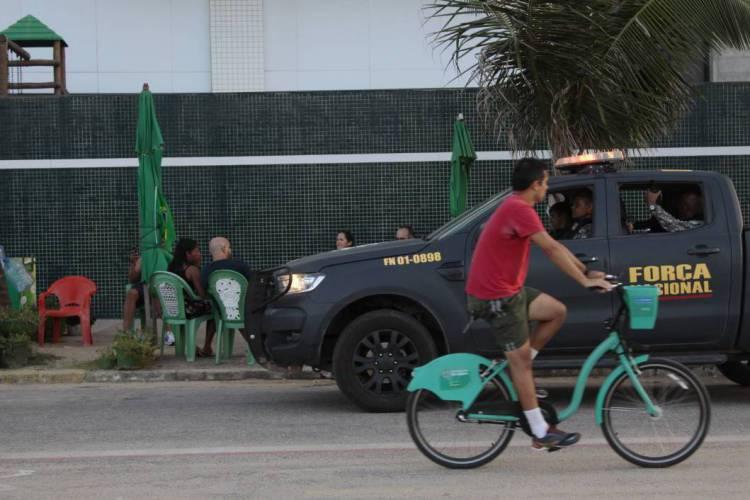 Forças federais poderão ser usadas na segurança em Fortaleza e mais nove municípios (Foto: BEATRIZ BOBLITZ, EM 23/2/2020)