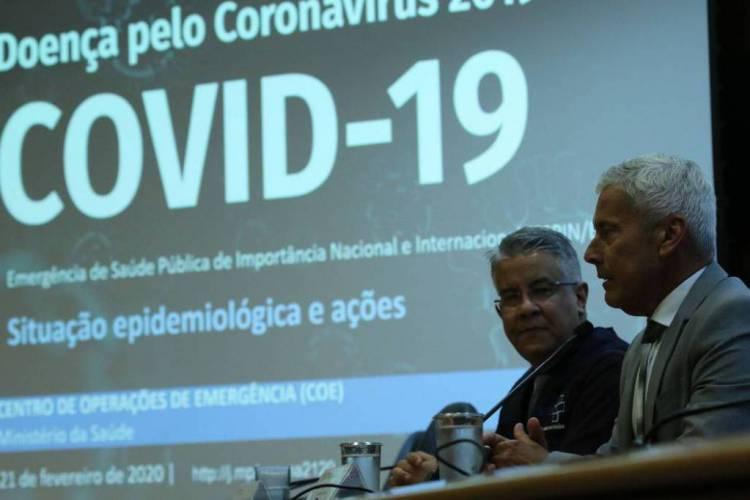 Divulgação de dados atualizados sobre a situação do novo Coronavírus no País (Foto: Fabio Rodrigues Pozzebom/Agência Brasil)