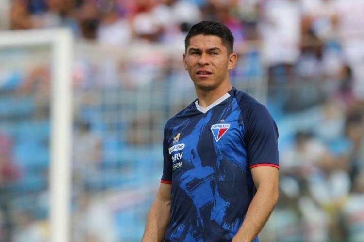 Osvaldo é um dos principais jogadores do Fortaleza  (Foto: Fábio Lima/O POVO)
